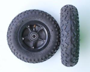 200x50 complete wheel (light weight tyre)